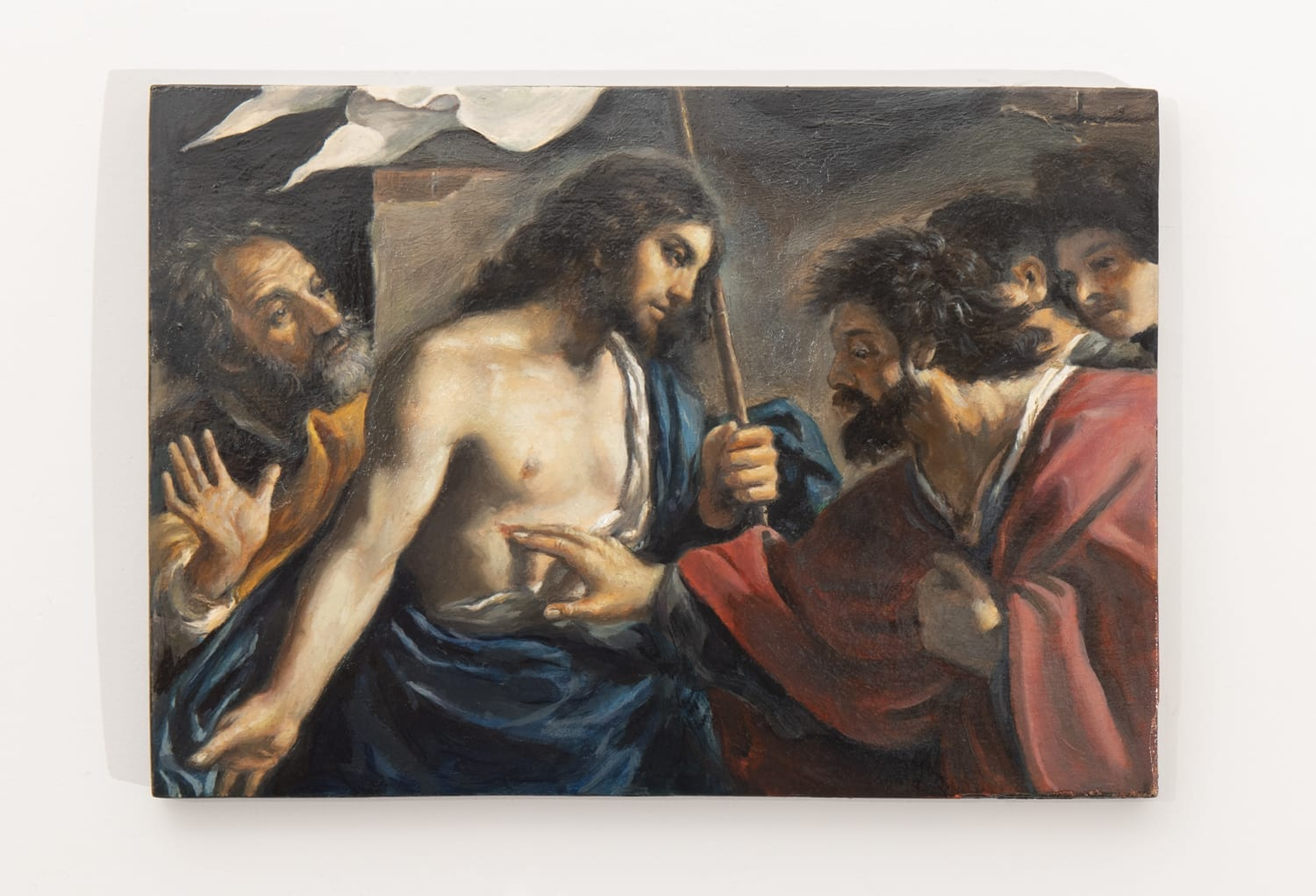 The incredulity of Saint Thomas: Limited by history